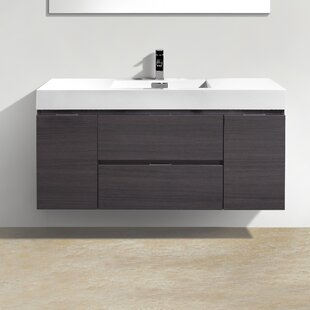 Wall Mounted Floating Bathroom Vanities At Great Prices Wayfair