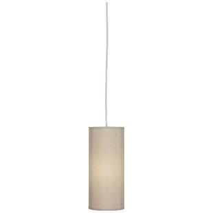 Elena 1-Light Cylinder Pendant by Robert Abbey
