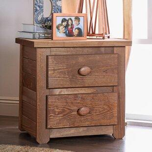 Salamone 2 Drawer Nightstand by Harriet Bee
