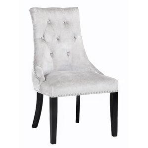 Lucas Button Tufted Nail Head Trim Side Chair (Set of 2) by Uptown Club