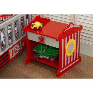 Find a Firefighter 1 Drawer Nightstand by KidKraft Reviews (2019) & Buyer's Guide