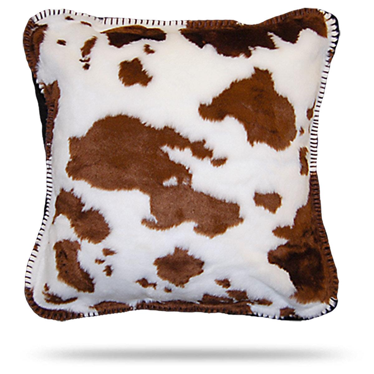 Millwood Pines Figueiredo Cow Throw Pillow Wayfair