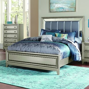 Bromford Upholstered Panel Bed by Willa Arlo Interiors
