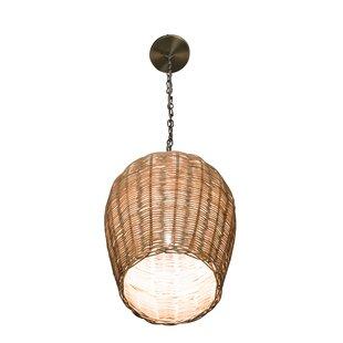 Mistana Elodie 1-Light Dome Pendant
