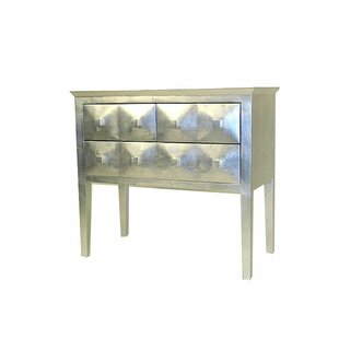 Schoen Modern Reflective 3 Drawer Chest by World Menagerie