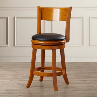 Shiloh 24 Swivel Bar Stool Alcott Hill