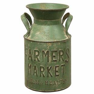 Sosa Farmer Market Milk Can Table Vase