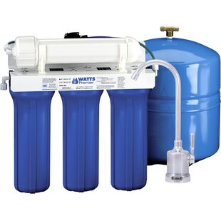 Watts Premier Five Stage EPA / ETV Verified Reverse Osmosis System with Monitor Faucet