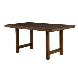 Millwood Pines Wildermuth Wooden Dining Table