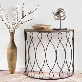 Winston Porter Wrightsville Wood/Iron End Table