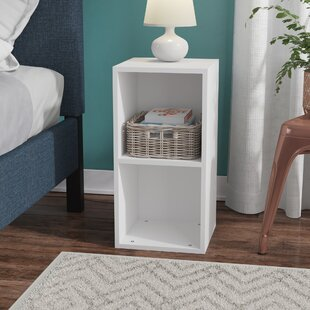 Affordable Gengler Cube Dorm Nightstand by Rebrilliant