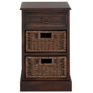 Urban Designs 3 Drawer Nightstand by EC World Imports