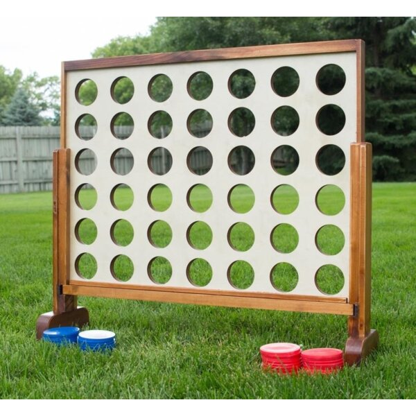 Giant Four-In-A-Row Oversized Game – Jumbo Outdoor Large ...