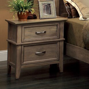 Rosecliff Heights Cartwright 2 Drawer Nightstand