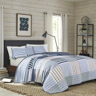 Cottonight Blue Plaid Comforter Set Twin Kids Bedding Set Navy Buffalo Checkered Comforter Lightweight for Boys Teens Soft Cozy