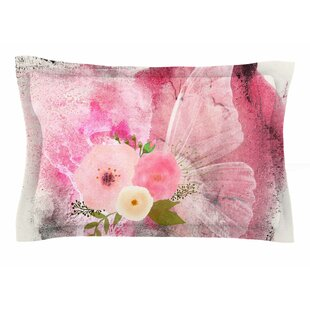 Li Zamperini 'My Butterfly' Watercolor Sham