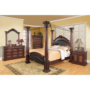 Fleur De Lis Living Broadwater Canopy Bed