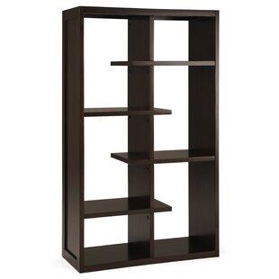 Itzayana Geometric Bookcase By Brayden Studio
