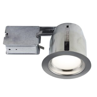 Recessed lighting housings youll love wayfair 5 led recessed lighting kit aloadofball Image collections