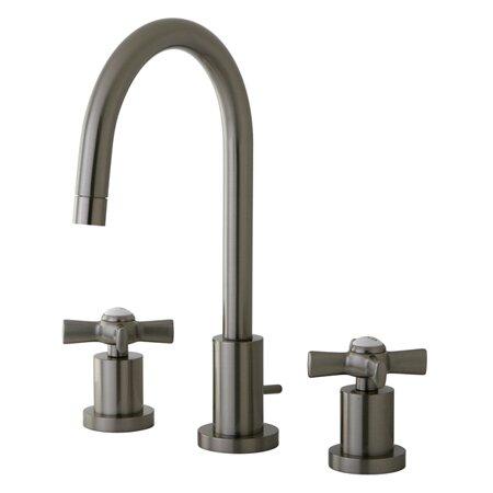 Millennium Widespread Cross Handle Bathroom Faucet