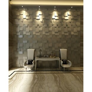 19 7 L X W Embossed Paintable 60 Panel Wallpaper