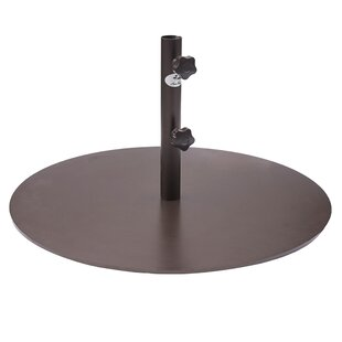 Round Steel Market Patio Umbrella Base  sc 1 st  Wayfair : aluminum patio umbrella - thejasonspencertrust.org