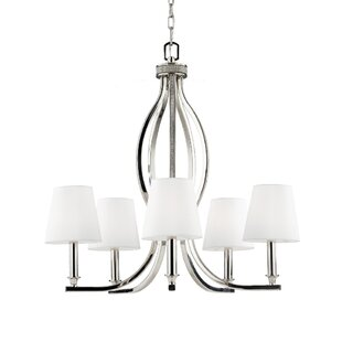 House of Hampton Havilland 5-Light Shaded Chandelier