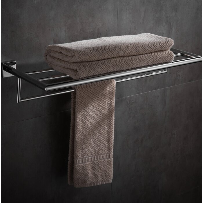 Abstract Wall Mounted Towel Rack