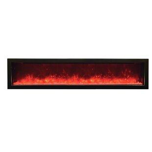 Orren Ellis Atoll Built-In Electric Fireplace
