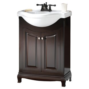 Stony Milton 26 Single Euro Bathroom Vanity Set by Hazelwood Home