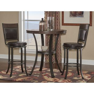 Alena 3 Piece Pub Table Set by..