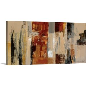'Urban Morning' by Silvia Vassileva Painting Print on Canvas