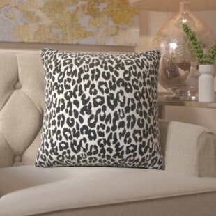 Etienne Olesia Animal Print Cotton Throw Pillow