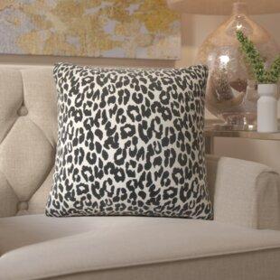 Etienne Olesia Animal Print Cotton Throw Pillow