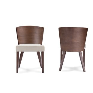 Teri Minimalist Dining Chair (Set of 2) Brayden Studio