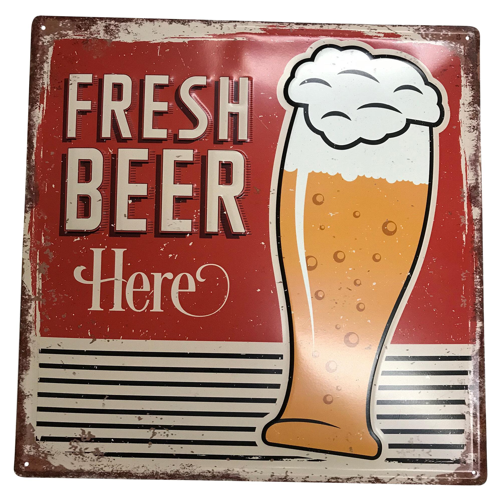 Rosalind Wheeler Saniyah 15 Beer And Liquor Marquee Sign Wayfair