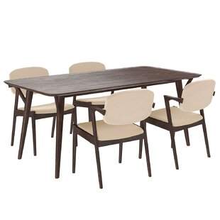 Mid-Century 5 Piece Dining Set