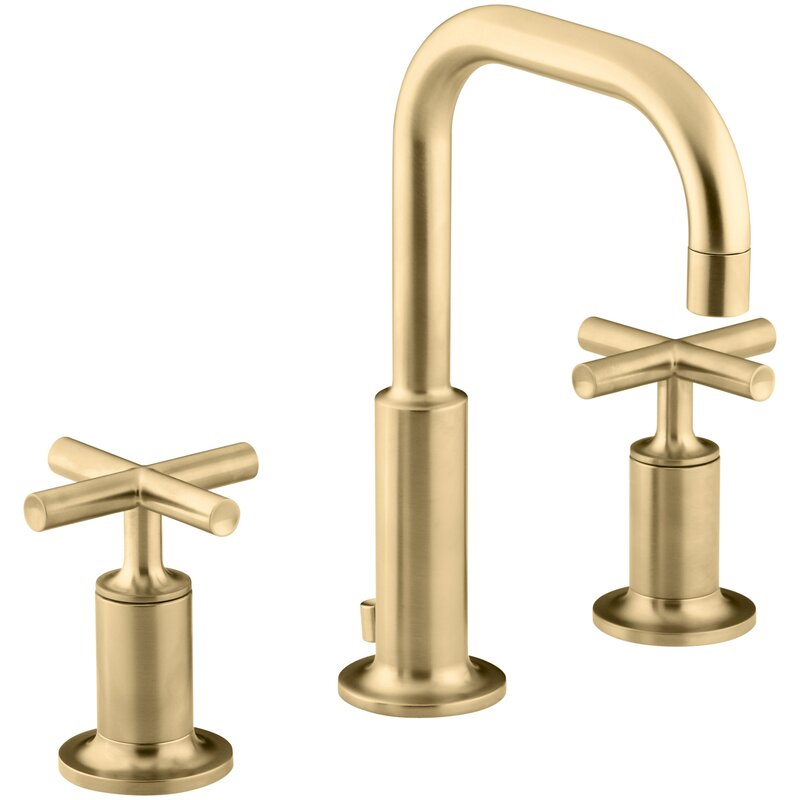 Purist Widespread Bathroom Faucet With Drain Assembly Reviews Allmodern
