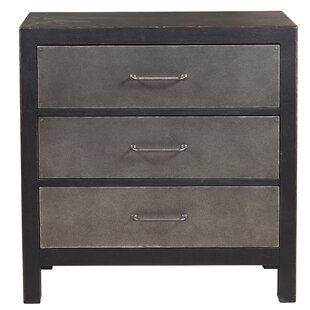 Blane Industrial Style 3 Drawer Accent Chest by Williston Forge