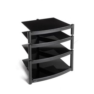 Hi Fi Celebration LE Rack In Gloss Black By Symple Stuff