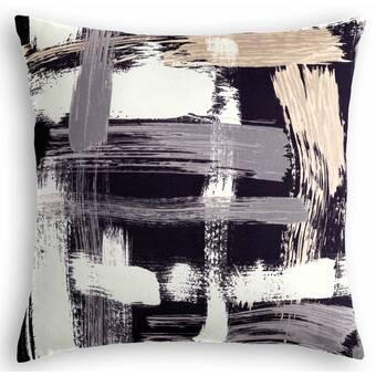 Cloud9 Design Berghauser Linen Abstract Lumbar Pillow Perigold