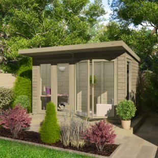 8 X 15.5 Ft. Shiplap Summer House By Tiger Sheds