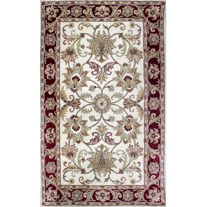 Broadway Hand-Tufted Red Area Rug
