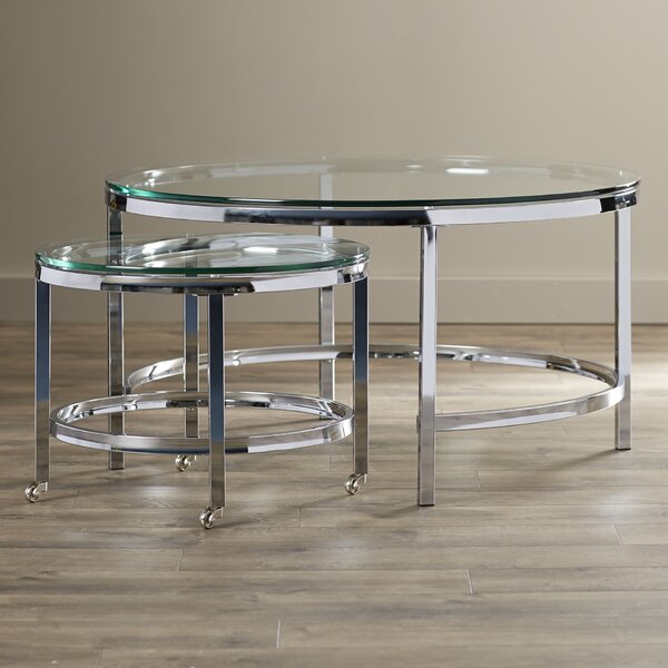 Wade Logan Joel 2 Piece Coffee Table Set & Reviews by Wade Logan