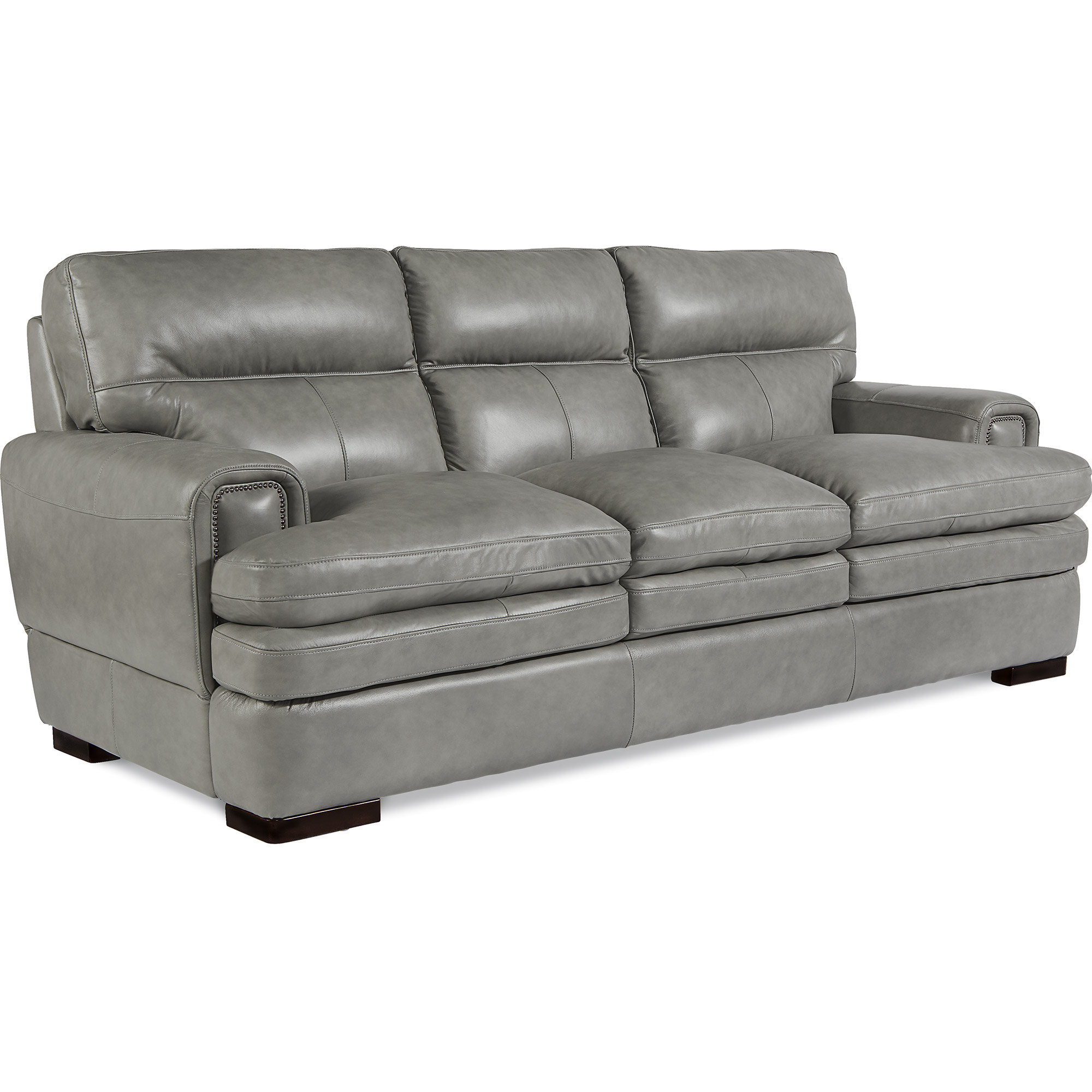 La-Z-Boy Jake Leather Sofa & Reviews | Wayfair