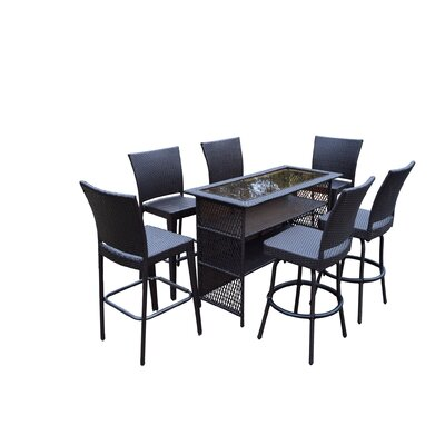 Parishville 7 Piece Bar Set by Darby Home Co Discount