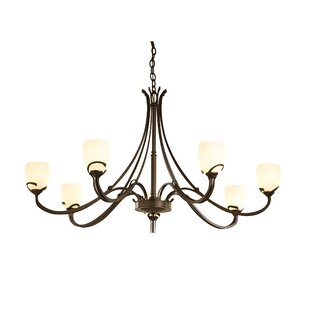 Hubbardton Forge Aubrey 7-Light Shaded Chandelier