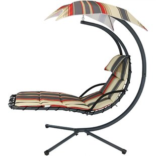 Winston Porter Ketner Hanging Chaise Lounger with Stand