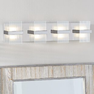 Jamesburg 4-Light LED Bath Bar ByWade Logan