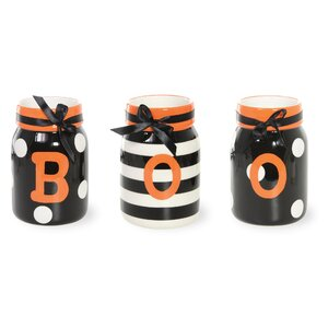 Witchy World Boo Storage Jar Set (Set of 3)